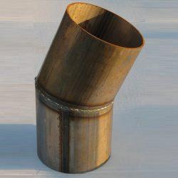 22.5 Degree Mitered Welding Elbow Steel, 22.5 deg welding elbow, 22.5 degree elbow, 22.5 deg elbow