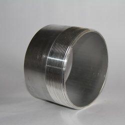 Aluminum Half Nipple, Alum Half Nipple, Half Nipple, Alum Nipple, Toe Nipple, Nipple