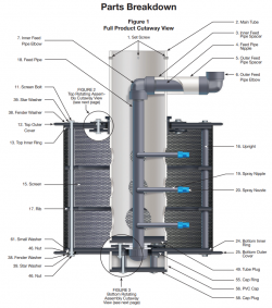 Irrigation and Manure Debri Strainer