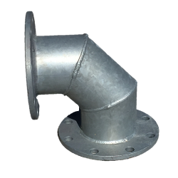 22-FL9006G, Flanged 90 Degree Elbow, 90 Degree Elbow