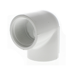90 Degree Elbow - FPT x FPT,90 Degree Elbow - FIPT x FIPT, 408-007, 408-010, PVC 90 ELL FPT SCH40, 90 Degree Elbow, FIPT x FIPT