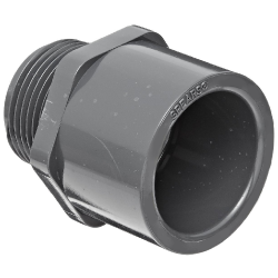 Male Adapter - MPT x Socket (Schedule 80).Male Adapter - MIPT x Socket - Schedule 80