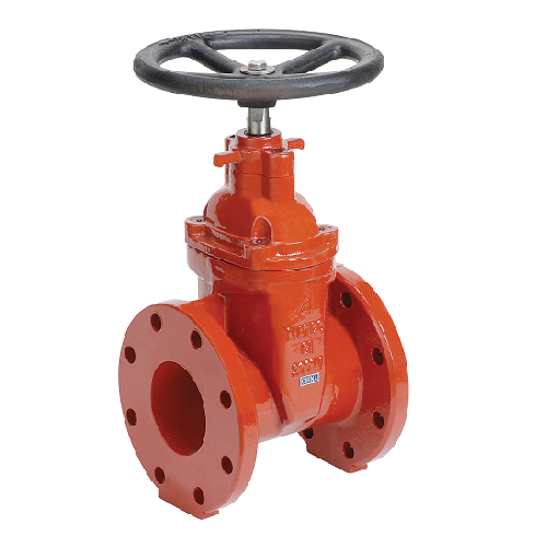Cast Iron Flanged Gate Valve With Hand Wheel Irrigation