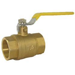 Threaded Brass Ball Valve - Full Port - IPS, Ball Valve, Brass Ball Valve, Threaded Valve, 759