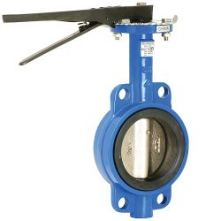 Cast Iron Wafer Style Butterfly Valve Lever Operated, B6 Butterfly Valve - Wafer Style, Wafer Valve, Butterfly Valve, B6 Valve