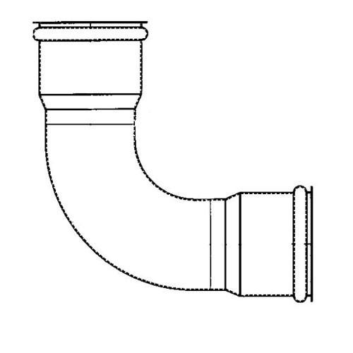 90 degree elbow ips galvanized triple k irrigation. Black Bedroom Furniture Sets. Home Design Ideas