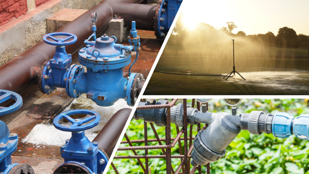 Irrigation and wastewater parts supplier