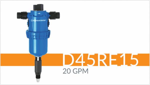 D45RE15-Fertilizer Injector Dosatron