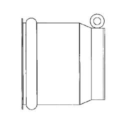 End Cap, Galvanized End Cap, Galvanized PVC Fitting, IPS Connector, IPS End Cap