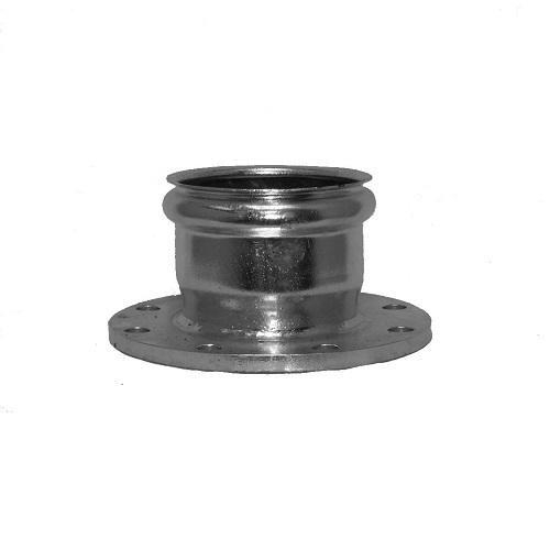 Flange adapter ips bell galvanized triple k