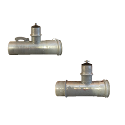 Mainline To Lateral Valve Tee