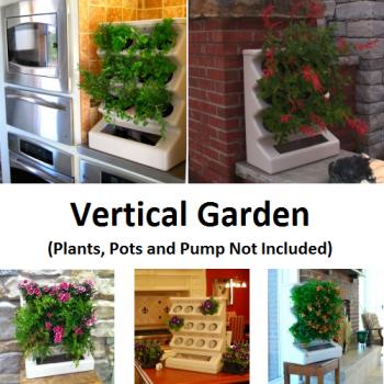 Tabletop Vertical Garden Triple K Irrigation