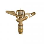 Brass Impact Sprinkler, Wade Rain Full Circle Bronze Sprinkler