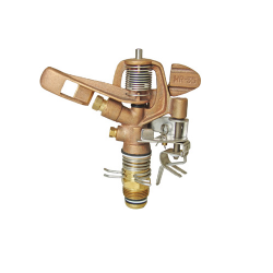 Part-Circle Adjustable Brass Sprinkler