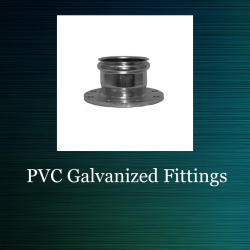 Galvanized for PVC Repairs