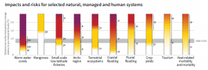 High temperature risk to livestock and plants